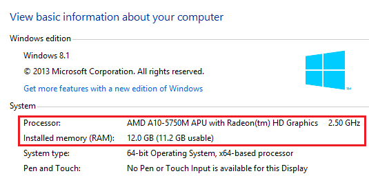 How do I find my computer specs
