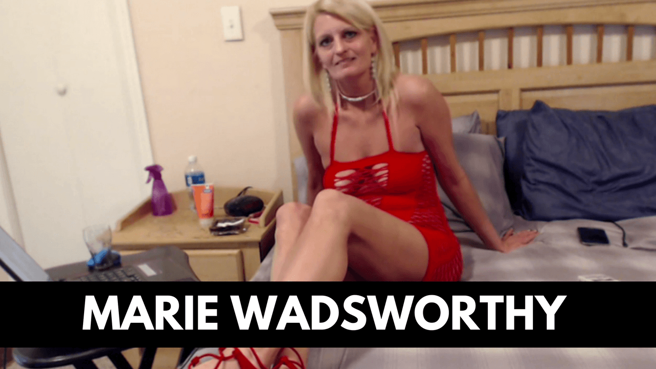 Marie Wadsworthy Mature Webcam Model Interview